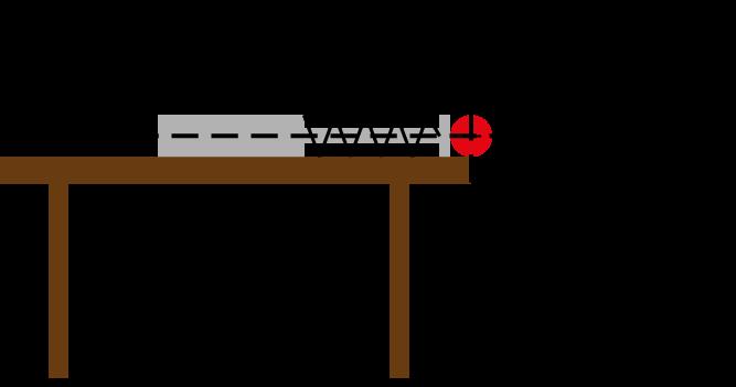 analogie der bewegung in x richtung zwischen waagerechtem. Black Bedroom Furniture Sets. Home Design Ideas